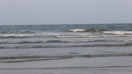 front view of waves in Thailand