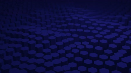 шестиугольный : Abstract blue texture pattern consisting of hexagons