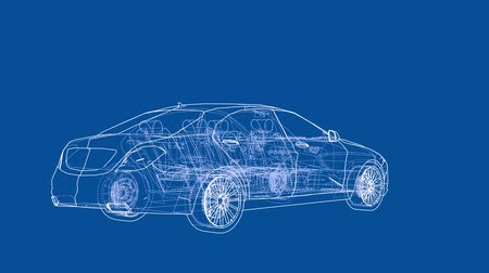 illustrazione : Video di stile concept car auto