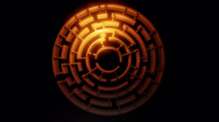 quest : 3D circular maze. Video