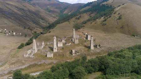 kaukázus : Defensive towers in the mountains of Ingushetia
