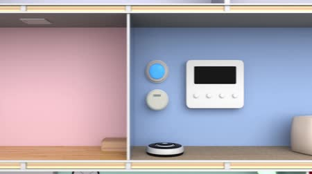 chytrý : Smart house for home automation management concept