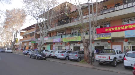 pretoria : CIRCA June 2013 - JOHANNESBURG ,SOUTH AFRICA - a pan of Johanessburgs new chinatown district called Cyrildene