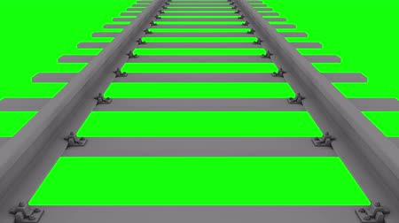 railway track loop Chroma key