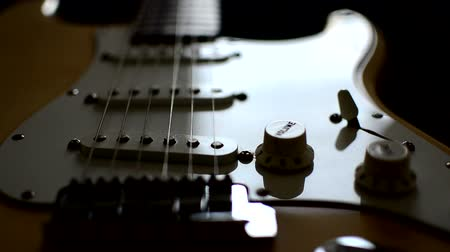 string instrument : Close up of  electric guitar