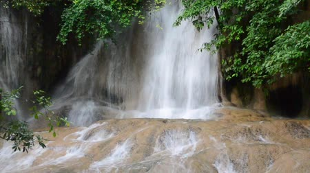 deep forest : Deep forest Waterfall in Kanchanaburi, Thailand