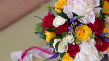 святой : Bridal Bouquet on table summer