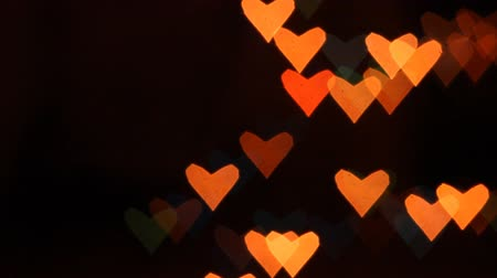valentin nap : Heart bokeh background. Valentines day background