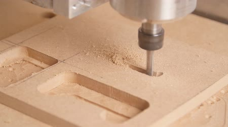 tokarka : Milling machine handles wood Wideo