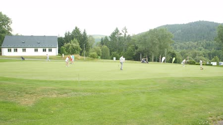 clubhouse : KARLOVY VARY - JUNE 13, 2017: Golf & Spa Resort Cihelny