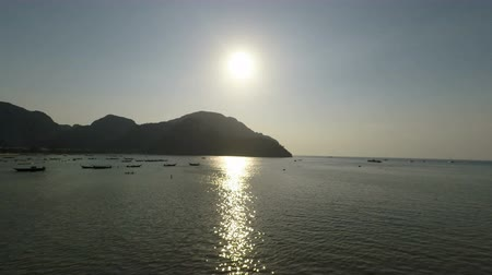 loção : sunset over lo dalum bay in thailand