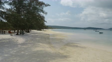 palmas : koh rong samloem Archivo de Video