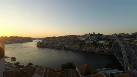 viewpoint : douro river in porto on a sunny day
