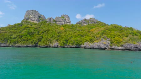 turkoois : Mu Ang Thong Marine National Park in Thailand