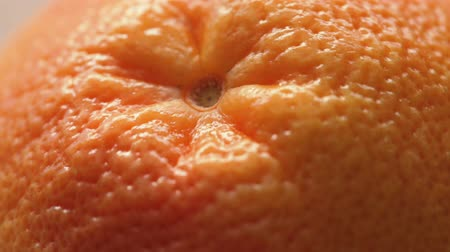 rind : Peel of fresh grapefruit Stock Footage