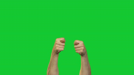 fig : Male fico symbol on green background Stock Footage