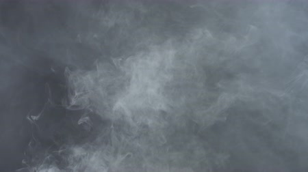 cigarette : Texture of white vapor fog, 4k