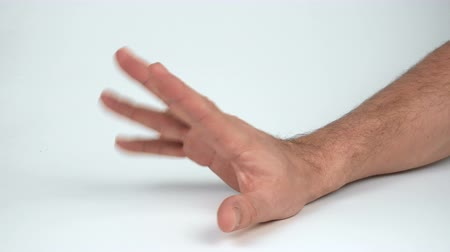 taboo : Mans hand showing no gesture