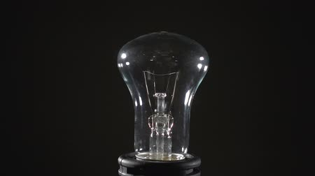 filamento : Video of incandescent lamp