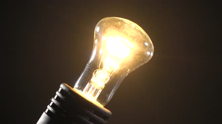 filamento : Video of incandescent bulb