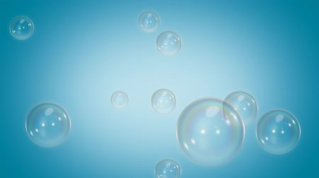 bright bubble : Loopable Soap Bubbles Blue