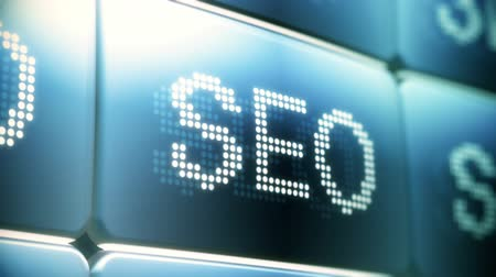 bulmak : SEO (Search Engine Optimization) Screen Animation Stok Video