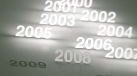 timeline : Glowing Numbers Timeline: 2000s and 2010s