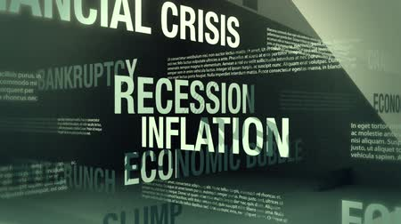adósság : Economic Recession Related Words Loop