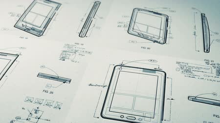 çizim : Technology Patents Drawing Animation