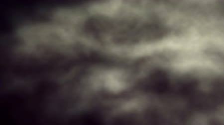 yuvarlanma : Loopable Soft Painterly Clouds Rolling Stok Video