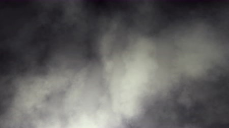 bezešvý : Rolling Dark Smoky Clouds Seamless Background Loop 4K