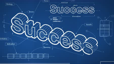 sucesso : Blueprint for Success 4K Vídeos