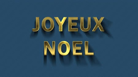 collected : Colored particles turn into blue background and text - Joyeux Noel