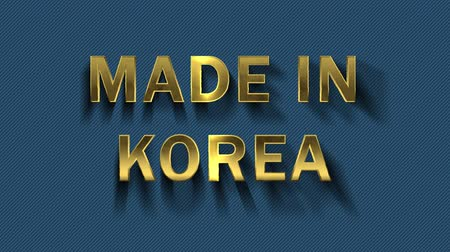 collected : Gold letters collecting from particles - Made in Korea
