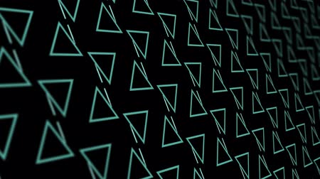 növelni : 3D animation background with triangle and lines