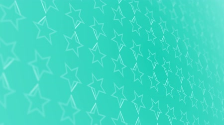 növelni : 3D animation background with stars and lines Stock mozgókép