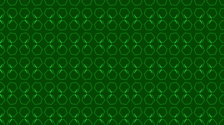 növelni : Animation background with hexagon and lines