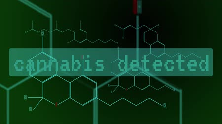 strukturální : Digital animation - a group of cannabinoid molecules Dostupné videozáznamy