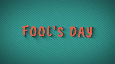 fool : Animated bouncing letters Fools Day