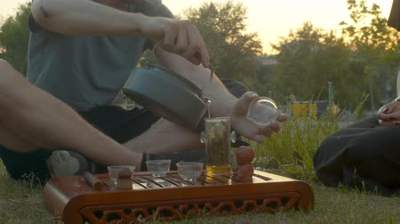 herbata : Tea ceremony in the park