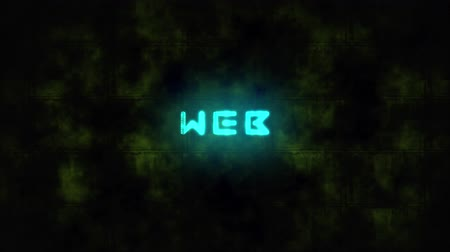 award : Techno WEB text animation