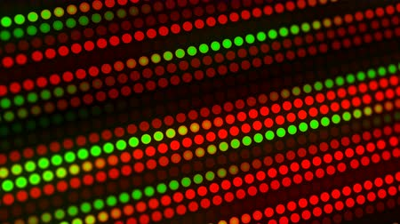 desfocado : Festive Christmas blur light background. Circle dot lights template for holiday video card backdrop or festive concept. Copy space 4k animation footage.