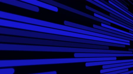 Fast blue light flow loop background. Futuristic template for presentation, screensaver or technology concept, 4k digital motion footage.