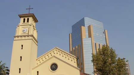 церковь : Church in Santiago Chile