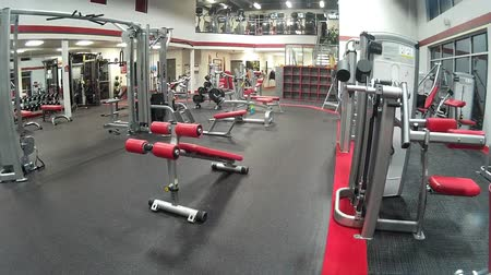 elliptical : Empty High Quality Gym