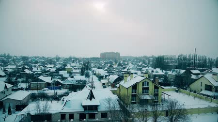 коттедж : The roof is a winter city