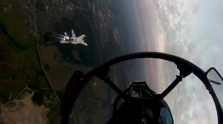 squadron : The fighters perform a combat turn