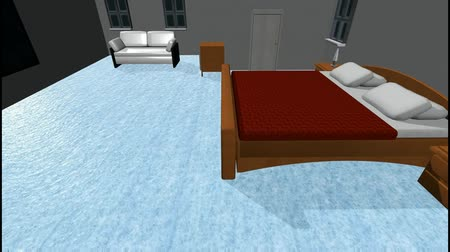floods : Flood in a Bedroom