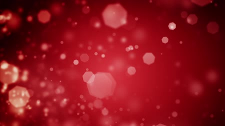 red background : High quality 20 seconds looping animation of abstract dark red Christmas background with bokeh defocused lights (seamless loop, HD, high definition 1080p)