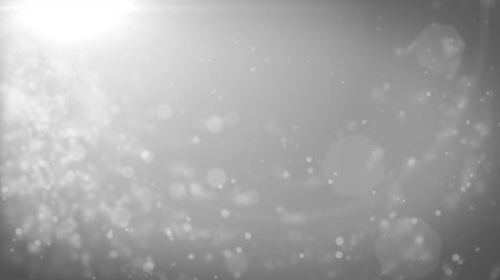 eleganckie : Abstract grey Christmas background with bokeh defocused lights (seamless loop, HD, high definition 1080p)